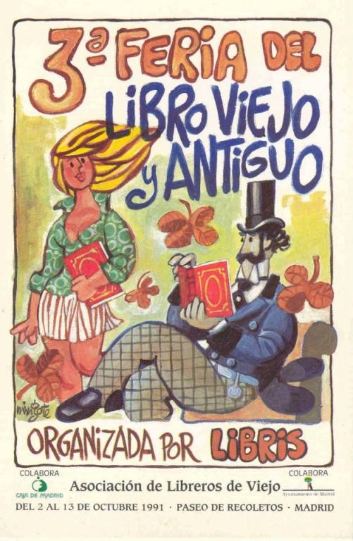 3ª-Feria de Otoño del Libro Viejo y Antiguo de Madrid