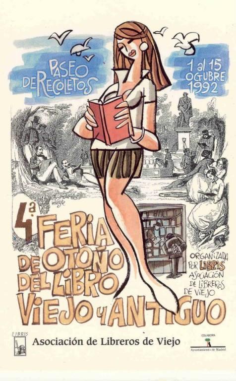 4ª-Feria de Otoño del Libro Viejo y Antiguo de Madrid