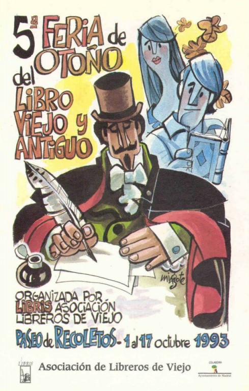 5ª-Feria de Otoño del Libro Viejo y Antiguo de Madrid