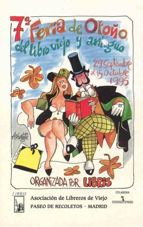 7ª-Feria de Otoño del Libro Viejo y Antiguo de Madrid