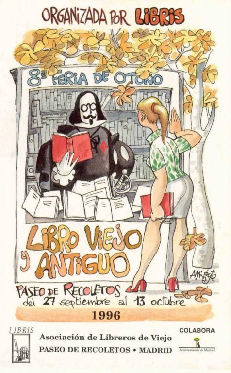 8ª-Feria de Otoño del Libro Viejo y Antiguo de Madrid