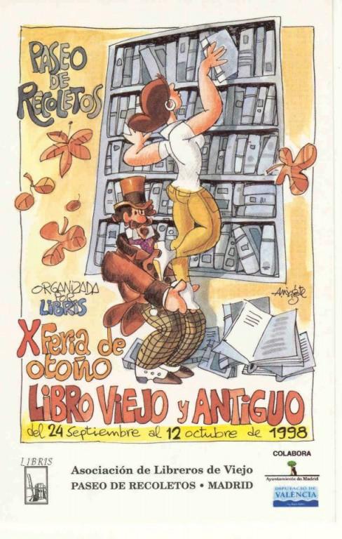 X-Feria de Otoño del Libro Viejo y Antiguo de Madrid
