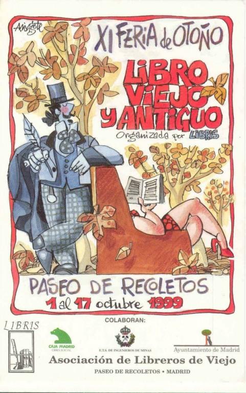 XI-Feria de Otoño del Libro Viejo y Antiguo de Madrid