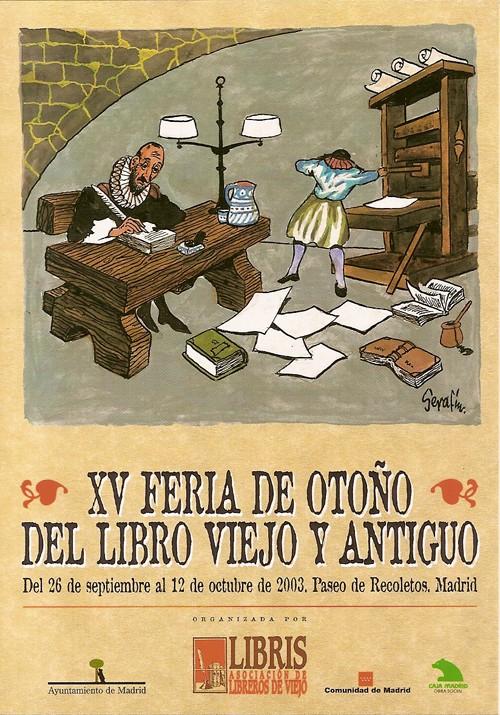 XV-Feria de Otoño del Libro Viejo y Antiguo de Madrid
