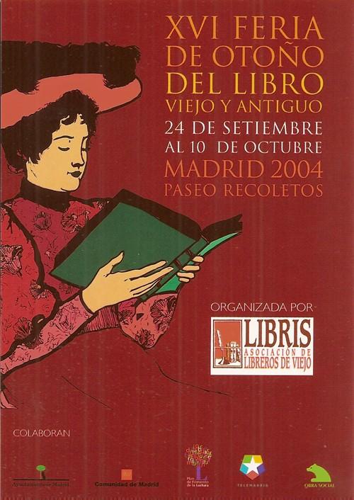 XVI-Feria de Otoño del Libro Viejo y Antiguo de Madrid