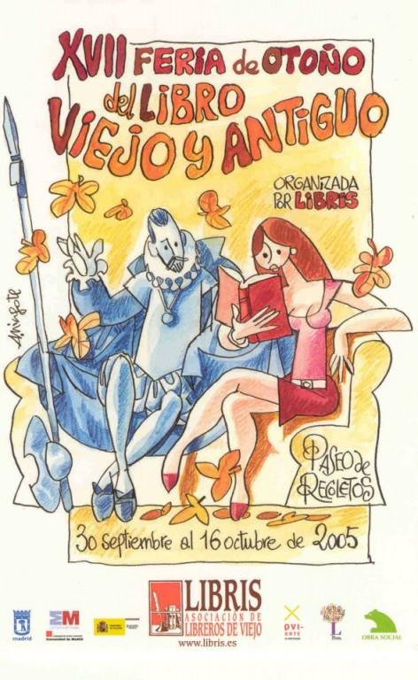 XVII-Feria de Otoño del Libro Viejo y Antiguo de Madrid