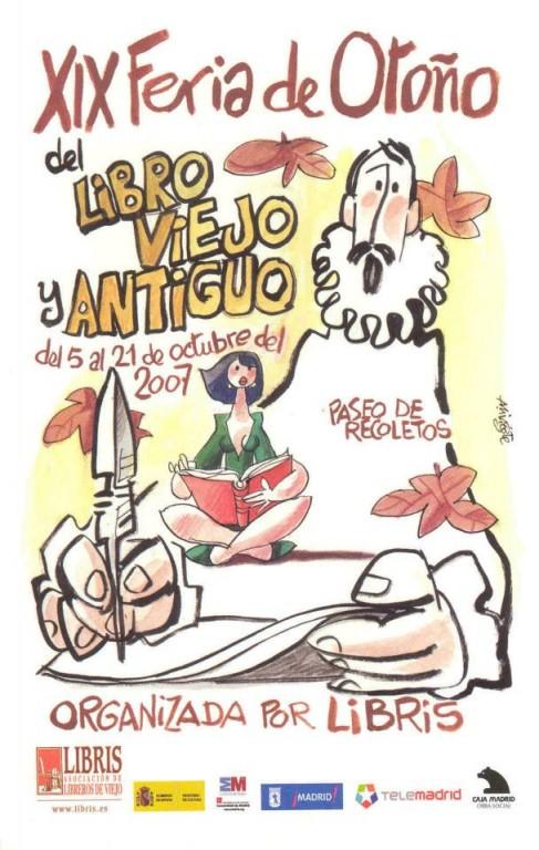 XIX-Feria de Otoño del Libro Viejo y Antiguo de Madrid