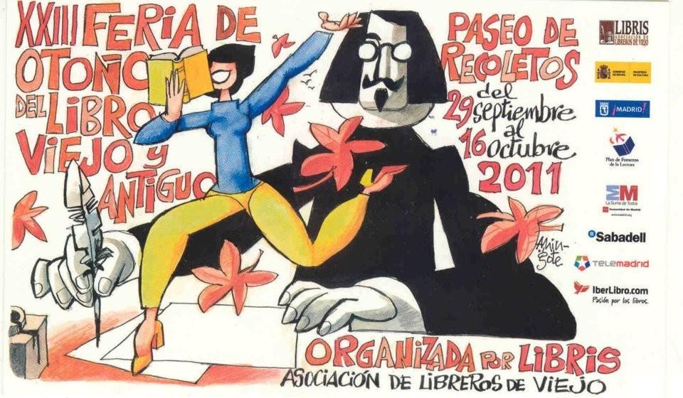 XXIII-Feria de Otoño del Libro Viejo y Antiguo de Madrid