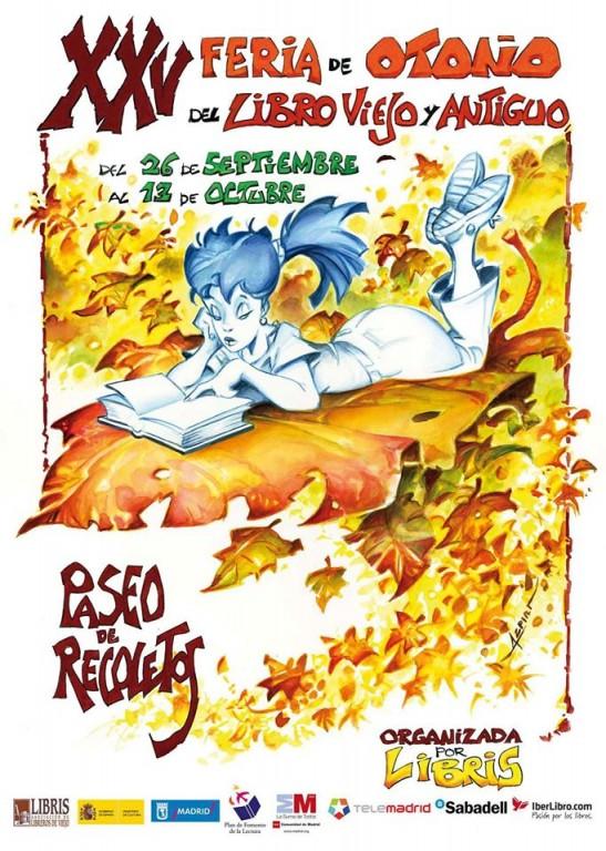 XXV-Feria de Otoño del Libro Viejo y Antiguo de Madrid