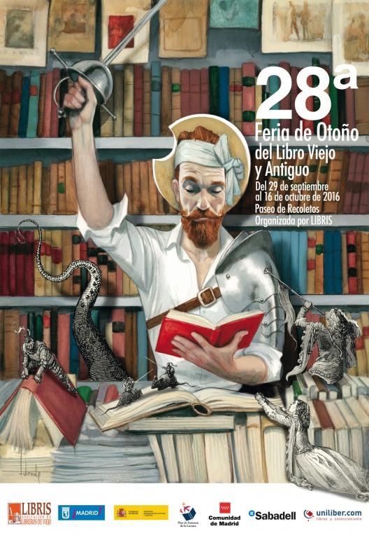 28ª-Feria de Otoño del Libro Viejo y Antiguo de Madrid