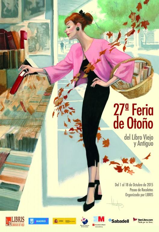 27ª-Feria de Otoño del Libro Viejo y Antiguo de Madrid