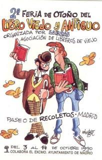 2ª Feria de Otoño del Libro Viejo y Antiguo de Madrid