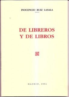 De libreros y de libros