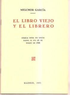 El libro viejo y el librero (Edición facsímil)
